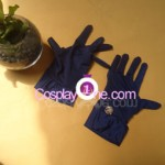 Skelter Helter from No More Heroes 2 Cosplay Costume gloves