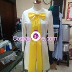 Sakura The Pink Cape Costume from Final Judgement Cosplay Costume front in prog