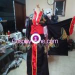 Yuuko Kyoto Accommodations Cosplay Costume front prog