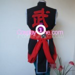Kung Lao from Mortal Kombat Cosplay Costume back