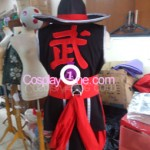 Kung Lao from Mortal Kombat Cosplay Costume back prog