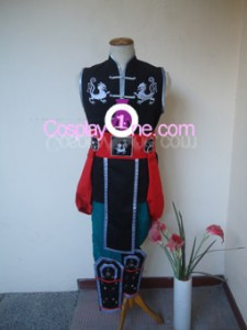 Kung Lao from Mortal Kombat Cosplay Costume front