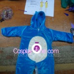 Snorlax Outfit for Newborn Baby front prog